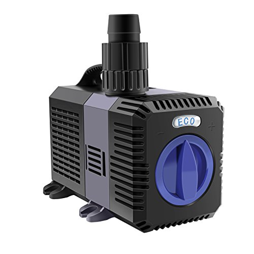 everfarel 5200L/H Super Eco Teichpumpe Pumpe Bachlaufpumpe Wasserpumpe 40W,Aufzug 4.8 m
