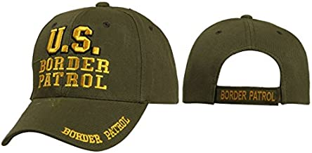US Border Patrol Mobile Law Enforcement Arm Uniform Style Baseball Cap Hat