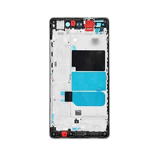 lilili De Reemplazo De Montaje Fit For Huawei P8 Lite Frontal Pantalla De Marco De Soporte Chasis Medio Cristal Tactil Digitalizador Reemplazo de Pantalla LCD (Color : Golden)