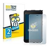 BROTECT Schutzfolie kompatibel mit Samsung Galaxy Tab Active 3 (2 Stück) klare Bildschirmschutz-Folie