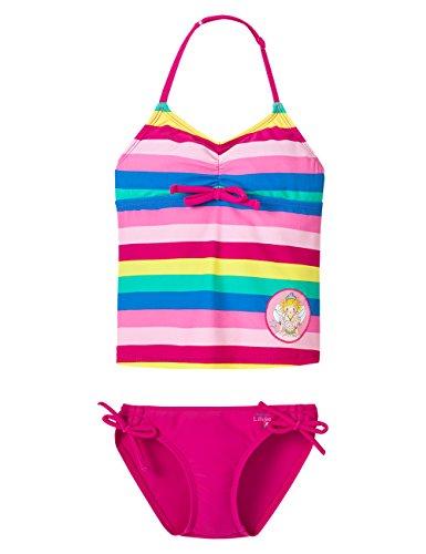 Schiesser Mädchen Bikini Tankini UV Schutz 40+, Gr. 98, Mehrfarbig (multicolor 1 904)