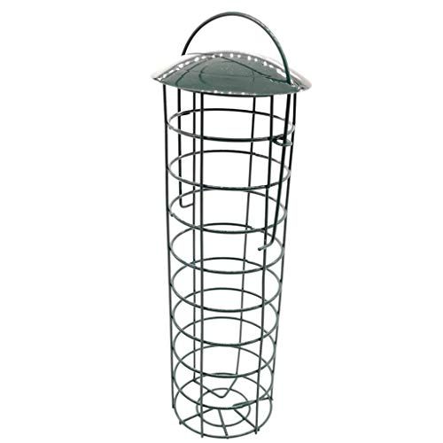 Rong Outdoor Balcony Bird House, Garden Tree, Hanging Ports, Seed Food Container for Bird Feeding Accessories