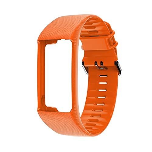 XUEXIU Muñeca De Reemplazo Original Soft Silicone Wamkband Smart Sport Reloj Correa para Polar A360 A370 (Color : E)