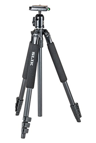 SLIK Sprint 150 Aluminum Tripod with SBH-150DQ Ball Head - Black