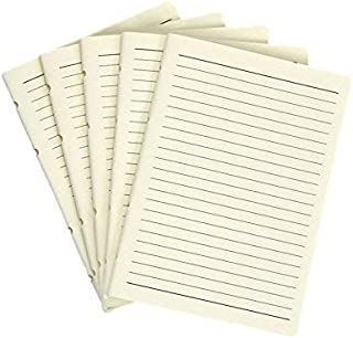 Lined Notebook Paper 120gsm- Jofelo Refillable Leather Journal Paper Refill Inserts 5 x 7 inch