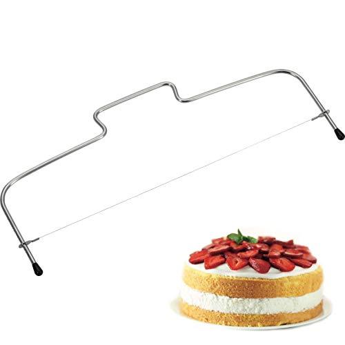 "Westmark 71202270 Horizontal Cake Cutter Simplex, 12.6"", Stainless Steel"
