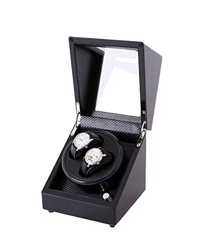 Mkuha 2 + 0 Watch Winder Estuche bobinadora para Relojes con 5...