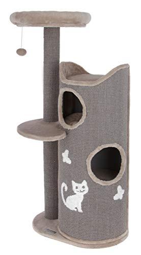 Kerbl Maxi-Pet 81620 Tiana - Rascador para Gatos, Color Gris