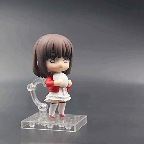NAMFXH Cmo criar a un transente Herona Disfraz de Actriz Kato Kei Versin Q Nendoroid Decoracin mvil PVC Modelo de Personaje de Anime Juguete Estatua Estatuilla Figura Figura Alto-3.94in