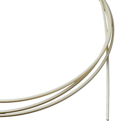 1pc 5 Feet Ivory ABS Guitar Binding Purfling Strip 1650*1.5*2mm Thick