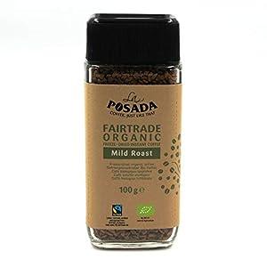 La Posada - Café soluble Mild Roast 100% arábica, 3 botes de 100 g