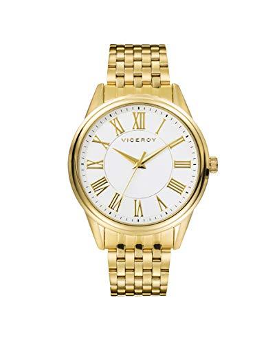VICEROY - Reloj Acero IP Dorado Brazalete Sr Va - 401151-03