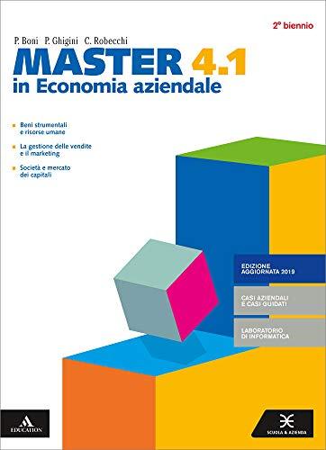 Master in economia aziendale. Per gli Ist. tecnici e professionali. Con e-book. Con espansione online (Vol. 4.1-4.2)