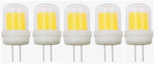 Led Bulbs, G4 LED Light Bulbs,Ceramic+Glass Cover,3W Light Bulb Super Brillant 260LM Energy Saving Spotlight Dimmable AC20...