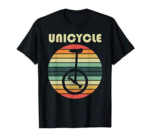 Unicycle Einrad-Fahrer Geschenk Pedalfahrzeug Sportgerät Rad T-Shirt