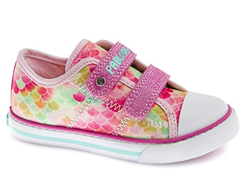Zapatillas De Lona Niña Pablosky Rosa/Lila 962781 36