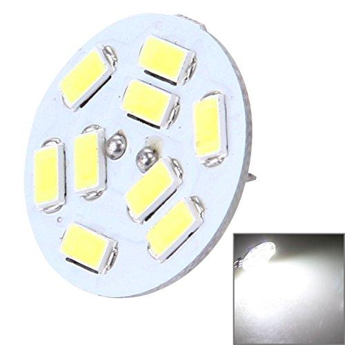 Bombillas La luz decorativa redonda de G4 4W 200LM 9 LED SMD 5730 para el coche/el interior/las luces al aire libre de la decoración, DC 12V, detrás fija Cambiar la bombilla LED