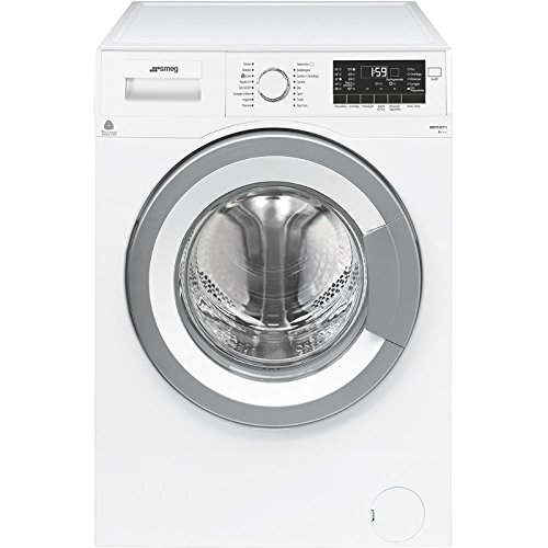 Smeg WHT912EIT-1 Libera installazione Caricamento frontale 9kg 1200Giri min A+++ Grigio, Bianco lavatrice