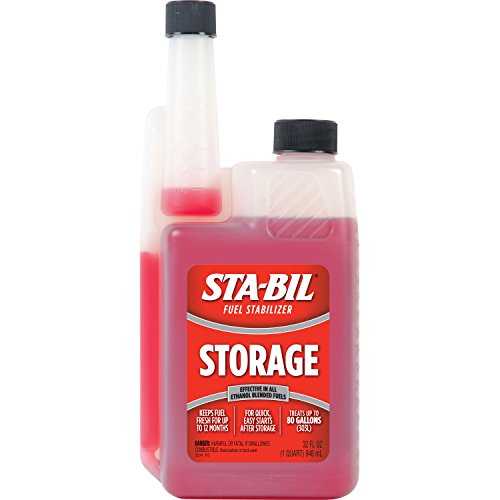 STA-BIL 22214 Red Fuel Stabilizer (32 oz.), 32. Fluid_Ounces