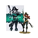 para la Liga de Legends Game Figuras, LOL Series Sculpture The Bounty Hunter/Miss Fortune (XL), Modelos de Resina exquisitos y Frescos, Colecciones Estatua de Escritorio o gabinetes d