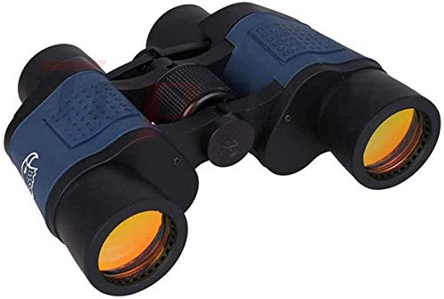 Reflector Profesional 60x60 Prism Prism Binoculares for Adultos, usando BAK-4 Prism FMC Lens 22MM Ocular Grande, binoculares Impermeables for observación de Aves, Caza, Deportes, para niños Regalos p