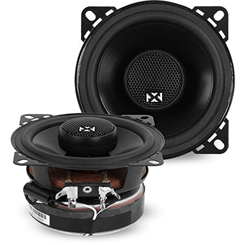 Why Should You Buy NVX 4 inch Professional Grade True 60 watt RMS 2-Way Coaxial Car Speakers [V-Seri...