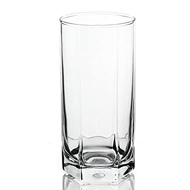 Skyline Double Classic Water/Juice/Beer Glasses 6-Piece Set, 14 Ounce