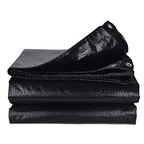 YYFANG Toldos Impermeables Resistente Al Desgarro Impermeable Fuerte Larga Vida Útil UV Protección De Aislamiento, Soporte De Tamaño Personalizado (Color : Black, Size : 3.8×4.8m)
