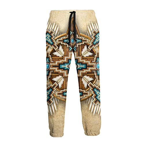 Pantalones de chándal para hombre, estilo casual, con cordón Negro blanco 27-32