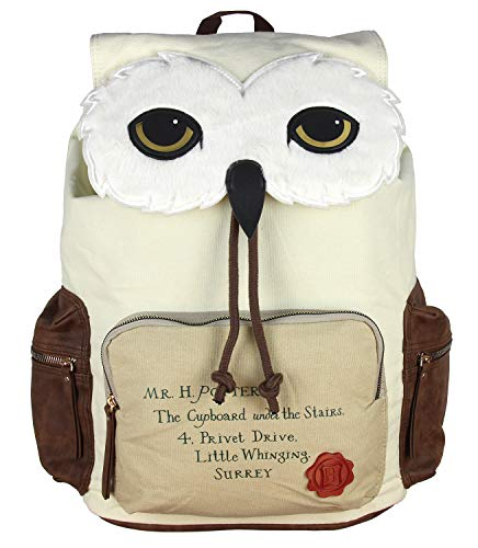 Harry Potter Backpack Hedwig Owl Hogwarts Letter Laptop Rucksack