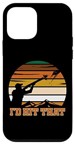 iPhone 12 mini Skeet Shooting I'd Hit That Shooting Clay Pigeon Case