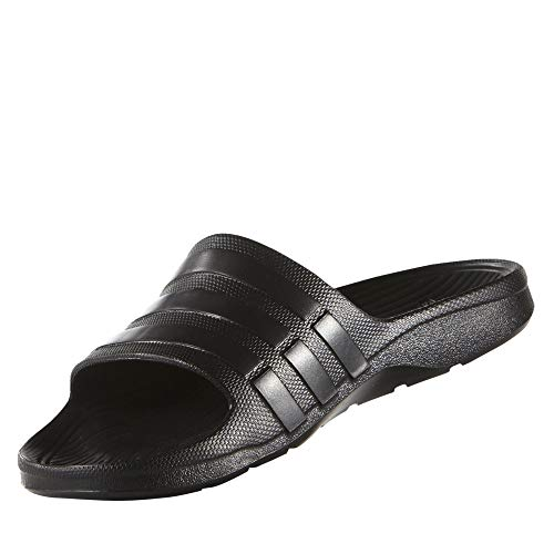 adidas Duramo Slide, Men's Open Toe Sandals, Multicolored (Cblack/Cblack/Cblack), 4.5 UK (37 EU)