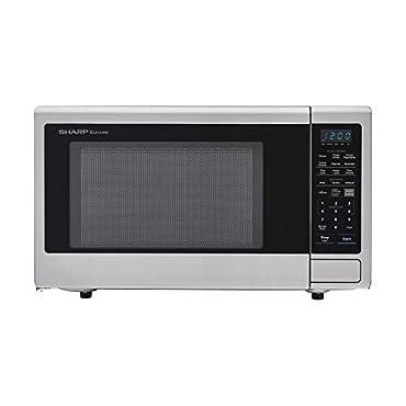 Sharp ZSMC2242DS, Stainless Steel Countertop 1200 Watt Microwave Oven, 2.2 cu. ft