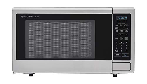 Sharp Electronics Corporation ZSMC2242DS, Stainless Steel Sharp Countertop 1200 Watt Microwave Oven, 2.2 cu. ft