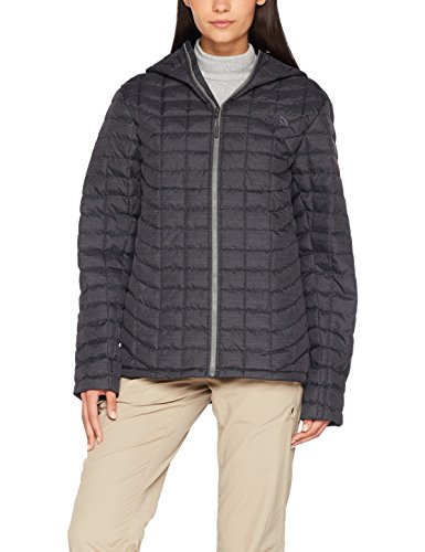 THE NORTH FACE M Thermoball Hoodie Chaqueta, Hombre, Negro (NF Black/Fusebox Grey),...