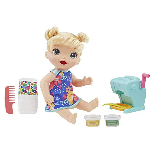 Baby Alive - Snackin Pasta - Poupee Cheveux Blonds