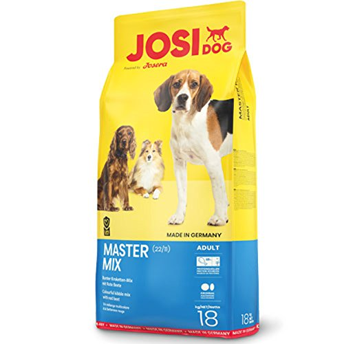 JosiDog Master Mix (18kg | Hundefutter für normal aktive Hunde | Premium Trockenfutter für ausgewachsene Hunde | powered by JOSERA | 1er Pack