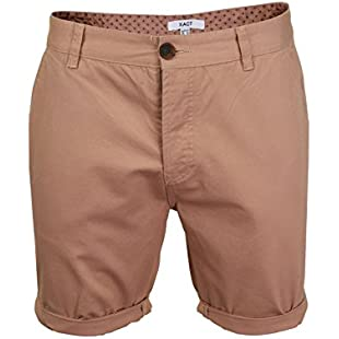 Customer reviews Xact Mens Twill Chino Shorts (Dusty Pink) 38
