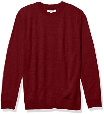Isaac Mizrahi Kids Classic Crewneck Sweater Burgundy 12 14 product image