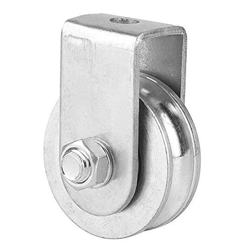 0.3 Toneladas de Carga Polea Simple Bloque de Polea Giratoria Rueda de Elevación de Rodillo Para Cable de Acero Inoxidable Material(Half-pack acyclic bearing)