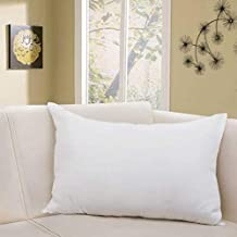 Uspech Polyester Fibre Solid Sleeping Pillow Pack of 1 (White)