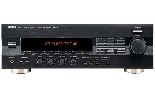 Yamaha RX 496 RDS Stereo-Receiver titan