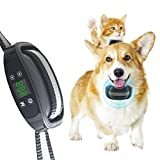 Pawpular GPS Wireless Dog Fence,Dog Boundary System Training Collar,GPS Positioning Accurate Pet Containment System,Signal Range Up to 3280 Ft,Adjustable Pet Training Collar,Harmless for All Dogs