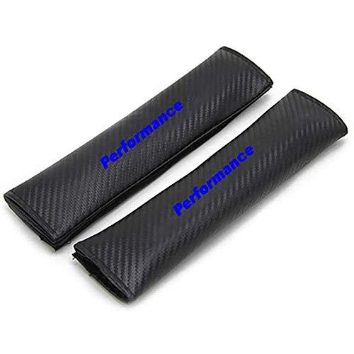2PCS Car Sefety Seat Belt Cover For BMW All models,Carbon Fiber Effect Shoulder Pads, Breathable Car Seat Belt Shoulder Strap,Car Styling Interior Accessories