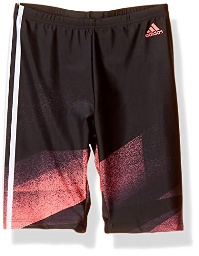 """adidas FIT TKY Jam Maillot de Bain Homme, Black/Signal Pink, FR : L (Taille Fabricant : 30"""")"""