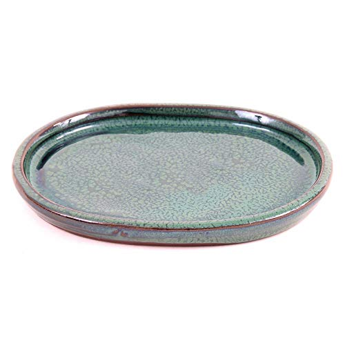 Bonsai - Untersetzer oval 17 x 13 cm, grün 54342