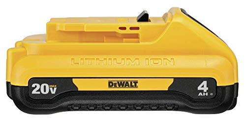 DEWALT DCB240 20V MAX 4Ah Compact Lithium Ion Battery - - Amazon.com