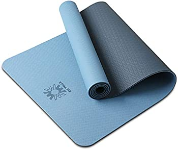 Wwww TPE Non Slip Yoga Mat with Carrying Strap