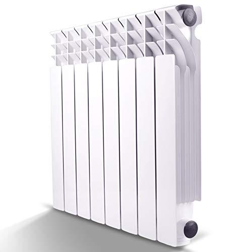 FAEIO Fusione di Alluminio ad Alta Pressione termosifone - Resistenza alla corrosione da Ossigeno - Riscaldamento autonomo radiatore - per in Soggiorno, Camera da Letto, Studio, Ingresso, ECC H420