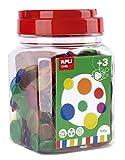 APLI Kids - Piezas transparentes para contar de colores 500...